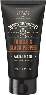 Scottish Fine Soaps Thistle & Black Pepper Facial Wash (150ml)