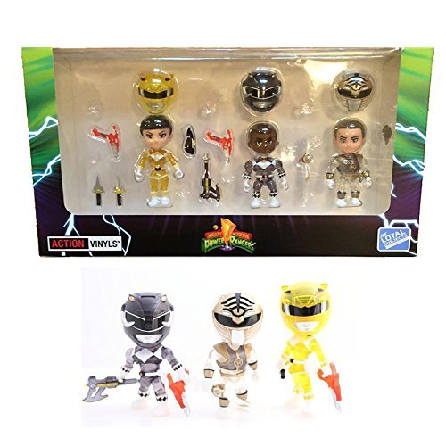 The Loyal Subjects Power Rangers Mighty Morphin Crystal Ranger Exclusive Action Figure