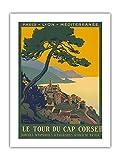 Korsika-Insel, Frankreich - Le Tour Du Cap Corse (Die Tour