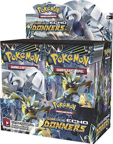 Pokémon Unbekannt Sonne und Mond Serie 8 - Echo des Donners - 1 Display (36 Booster) - Deustch