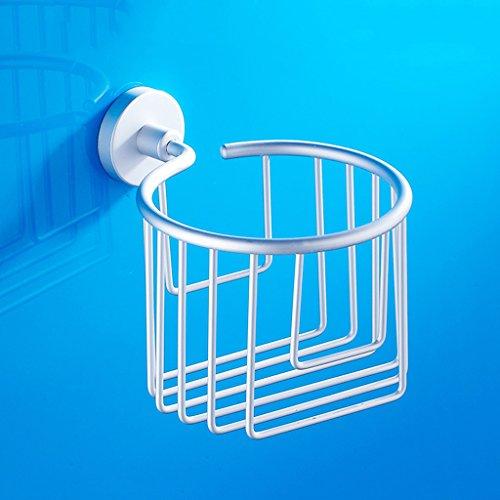 Badezimmer Raum Aluminium Raum Aluminium Mesh Draht Papier Handtuch Körbe Toilettenpapier Papier Rack Hersteller Großhandel Toilettenpapier