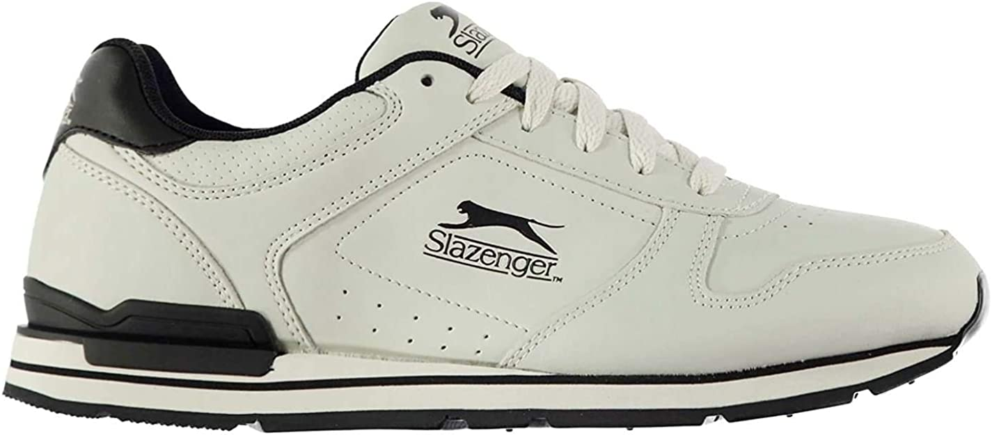 5 ☆ popular Slazenger Classic Mens Trainers Courier shipping free shipping Lace Padded Up Training Tongue S