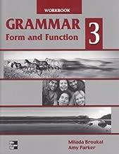 Grammar: Form and Function, Book 3: Workbook