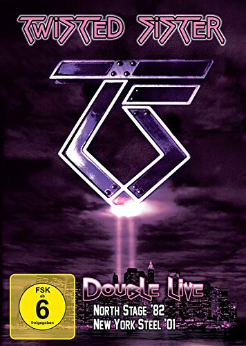 Twisted Sister - Double Live (North Stage '82 / New York Steel '01) [2 DVDs]