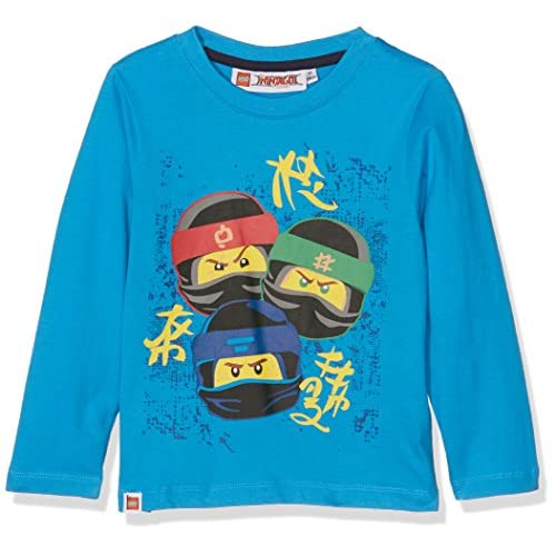 Lego Ninjago 161415 T-Shirt, Blu (Bleu), 4 Anni Bambina