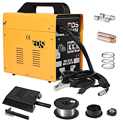 GOPLUS Schweißgerät Elektrisch, Elektrodenschweißgerät 230V, Schweißmaschine Farbewahl, Schweißinverter (Gelb)