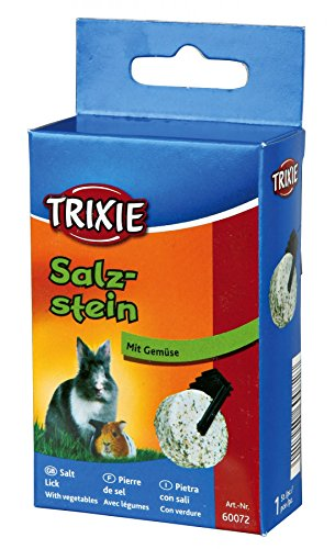 TX-60072 Salt Lick with Vegetables Guinea Pigs, Rabbits 95g