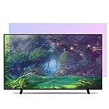 YSHCA Anti Luz Azul Protector De Pantalla De TV, 32-37 Pulgadas TV Protección de Pantalla Antirreflejos Filtro De Luz Antiarañazos, para HDTV LCD/LED/OLED Y QLED,37Inch/ 819x460mm (1PCS)