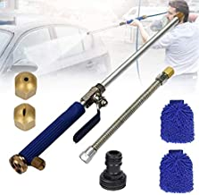 Allhave Hydro Jet Power Washer Wand Magic High Pressure Wand Improved Power Washer Water Hose Nozzle Hydro Water Jet Garden Hose Sprayer for Car Wash and Window Washing