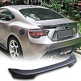 MCARCAR KIT Carbon Fiber Trunk Spoiler Fits for Subaru BRZ Toyota GT86 Scion FRS 2013-2020 CF Car Rear Wing Spoiler