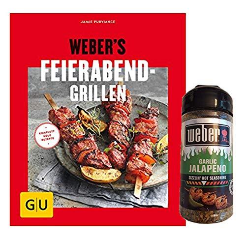 Web Weber's Feierabend-Grillen -Grillgenuss in 30 Minuten Grill Garlic Jalapeno Gewürz