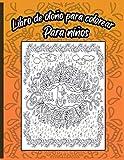 Libro de otoño para colorear para niños: Una colección relajante y divertida de hojas de otoño para colorear para niños de 4 a 12 años - Halloween y ... jardín de infancia (Spanish Edition)