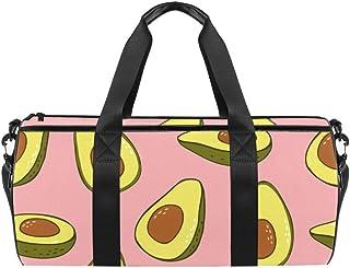 TIZORAX - Bolsa de viaje para gimnasio y frutas de aguacate