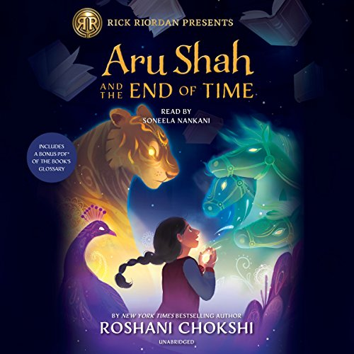 Page de couverture de Aru Shah and the End of Time