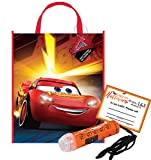 Cars Featuring Lightning McQueen Happy Halloween Trick or Treat Candy Loot Bag