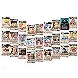 B&V ワンピース 手配書 27枚セット 最新バージョン 麦わら海賊団 四皇 ドラゴン 壁紙 ポスター