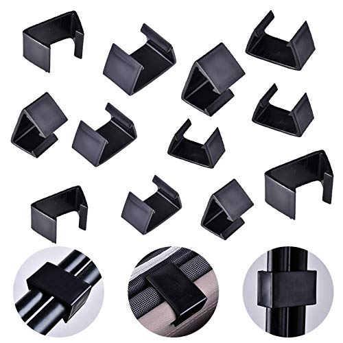 Outdoor Patio Wicker,12 Pieces Furniture Sofa Clips Rattan Furniture Clips 1.67/2/2.3 inch Chair...