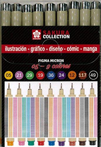 Sakura Pigma Micron 05 (9 colores)