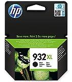 HP 932XL schwarz Original Druckerpatronen mit hoher Reichweite für HP OfficeJet 7510, 7612, 7110, 6700, 6100, 6600
