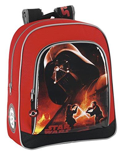 Star Wars - Mochila Junior Adaptable a Carrito, 32 x 28 x 12 cm (SAFTA 611401640)