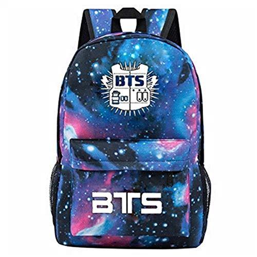 Augyuess Kpop BTS Bangtan Jungen Rucksack VR-416 College Book Bag Rucksack?