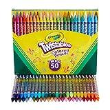 Crayola(クレオラ) Twistables 色鉛筆セット アート用品 子供へのギフトに 50本入り