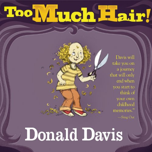 Too Much Hair! audiobook cover art