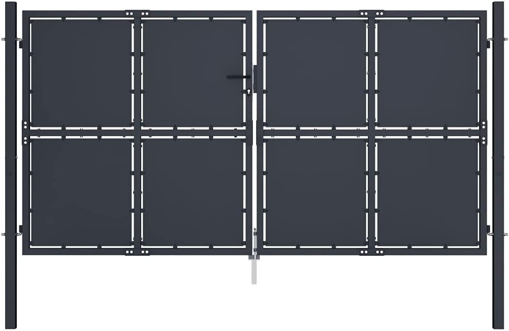 Priority Max 77% OFF Delivery Phoenix Mall Outdoor Garden Double Gate Barrier Do