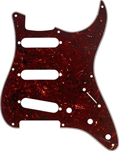 Fender '57 Strat® (8 Hole) Pickguard S/S/S - 4-ply, tortoise shell