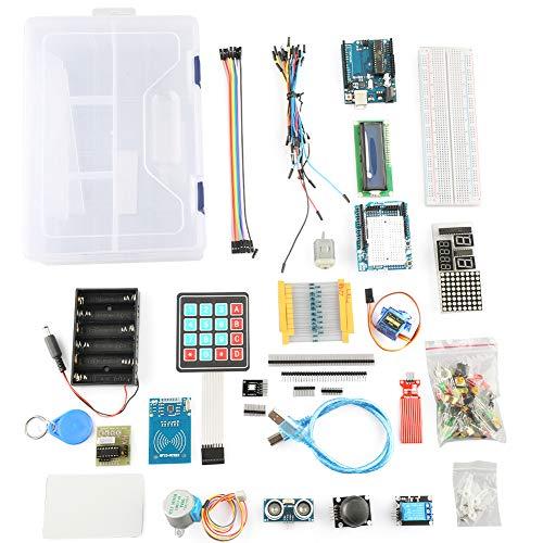 Arduino Kit, R3 Projekt Starter Kit-test Komplette Starter Kompatibel Mit Schrittmotoren 1602 Lcd Jumper