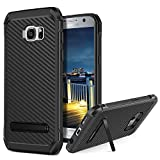 BENTOBEN Coque Samsung S7, Etui Galaxy S7, Housse de Protection Fibre Carbone...