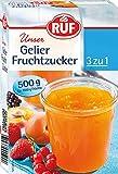 RUF Gelier Fruchtzucker, 4er Pack (4 x 500 g) -