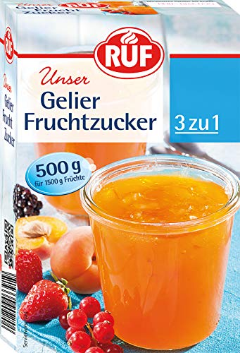 RUF Gelier Fruchtzucker (1 x 500 g)