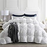 puredown 800 Fill Power Natural White Goose Down Comforter 700 Thread...