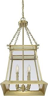 Savoy House Norwich 4-Light Foyer in Warm Brass Lustre 3-941-4-63