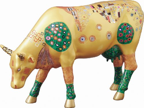 Cowparade Vaca - Klimt Cow L - Resina