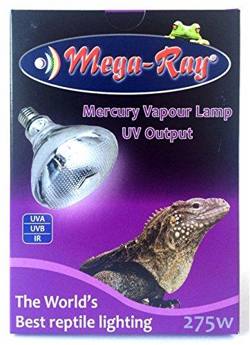 Mega Ray Mercury Vapor Bulb 275 Watts Buy Online In Dominica At Desertcart