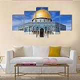 JJJKK Bilder Schlafzimmer - Al-Aqsa-Moschee in Jerusalem