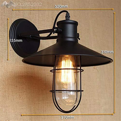 5151BuyWorld Lamp American Iron Vintage industriële wandlamp topkwaliteit retro wandlampen voor woonkamer bar hal keuken binnenverlichting decoratie