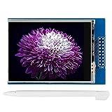 2.8インチTFT LCDスクリーンモニタータッチスクリーンカラーディスプレイ8ビットパラレルバスモニターモジュールMega2560用電子スクリーンドライバーアクセサリー