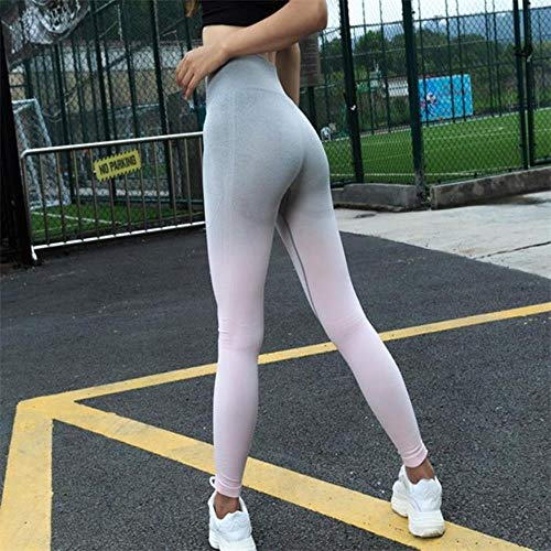 Koupany Naadloze Legging Blauwe Push Up Yogabroek Rise Grijze Trainings Joggingbroek Voor Dames Workoutlegging Yoga Legging