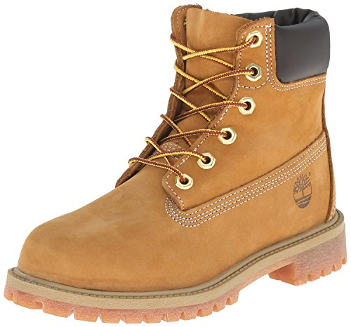 Timberland 6-Inch Premium Waterproof Boot (Toddler/Little Kid/Big Kid),Wheat Nubuck,4.5 W US Toddler