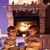 LED Lichterkette WeihnachtenBeleuchtung Weihnachtsdeko Warmweiß - 2