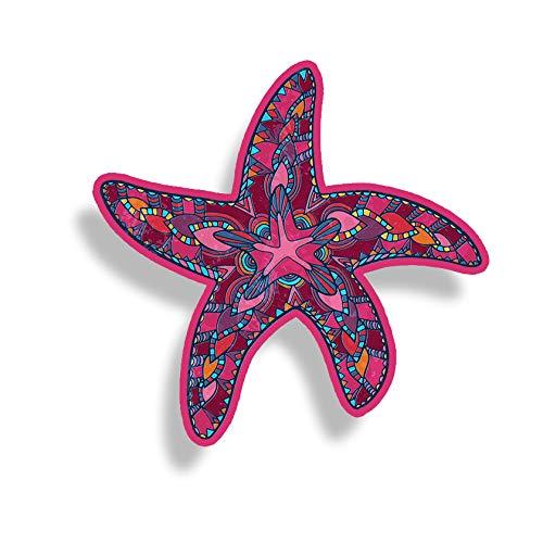 Pink Blue Starfish Sticker Full Color Car Window Bumper Decal Custom Printed Ocean Beach Sea Animal Star Fish Life Graphic