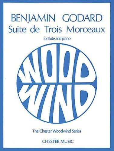 Suite De Trois Morceaux Op 116 Flute and Piano Chester Woodwind Series of Graded Pieces product image
