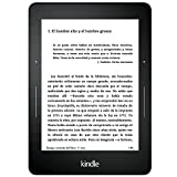 E-reader Kindle Voyage, pantalla de 6'' (15,2 cm) de alta resolución (300 ppp), con luz integrada...