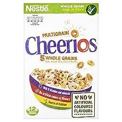 Cheerios Delicious Crunchy Wholegrain Cereals, 375g