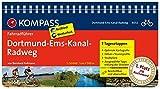 KOMPASS Fahrradführer Dortmund-Ems-Kanal-Radweg: Fahrradführer mit Routenkarten im optimalen Maßstab.: Fietsgids 1:50 000