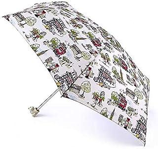Fulton - L768 Parapluie pliants Femmes Rouge Big Spot Red