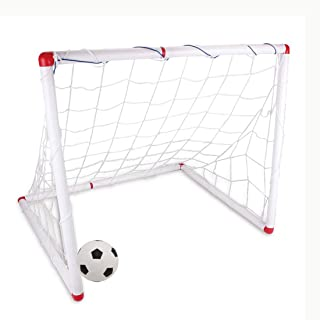 Football Goal Children's Soccer Game Set Indoor Outdooor Toy With Net +Pump+ Ball
